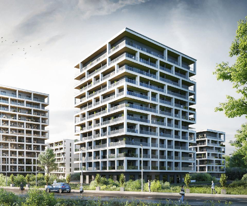 Tarasy Nad Zalewem Architektura Rzeszów