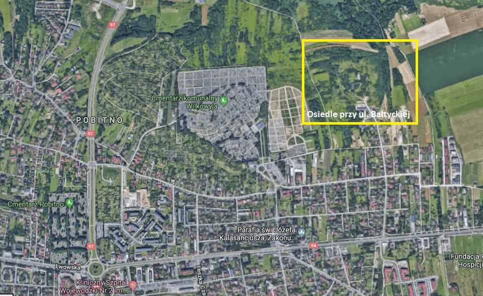 Osiedle Bałtycka Rzeszów lokalizacja